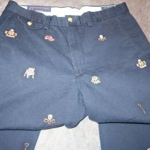 NWT MENS EMBROIDERED POLO RALPH LAUREN CLASSIC FIT